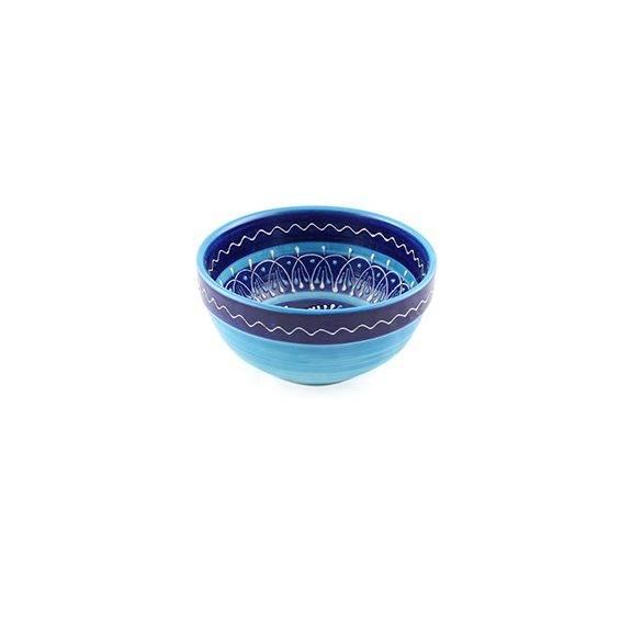 keramikschale blau 17cm