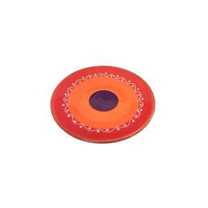 keramik gebaeckteller 16cm rot