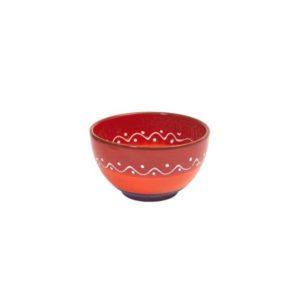 rote keramikschale 11cm