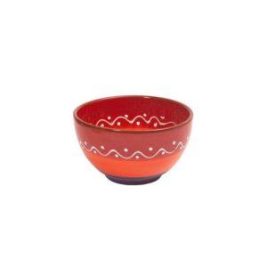 rote keramikschale 14cm