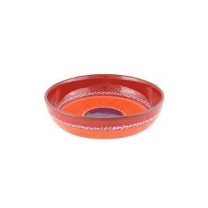 rote keramikschale 18cm