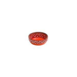 rote keramikschale 7cm