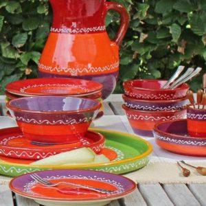 spanische keramik serie solo