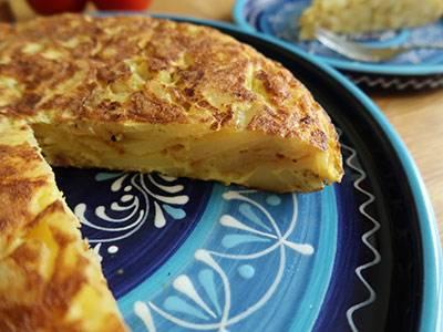 fertige tortilla