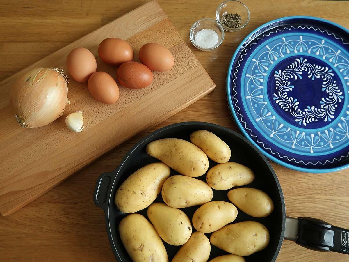 zutaten spanische tortilla