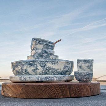 keramik aus spanien teller schalen serie espuma start