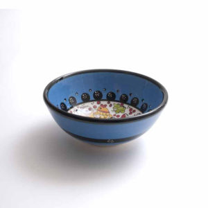 blaue schale 12cm