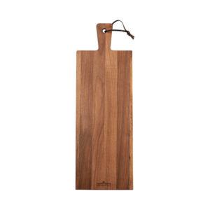 nussbaumholz servierplatte rechteckig cm