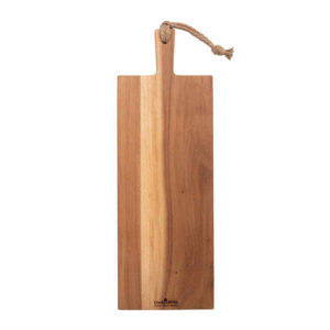 teakholz servierplatte handgrif 59 cm